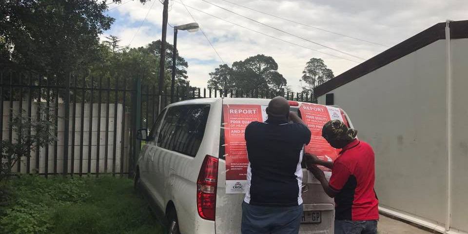 OHSC embarks on roadshow campaigns